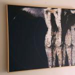 Nell'anima-2017-tecnica mista su tela cm.80x100x5 con listello in legno naturale