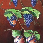 The Chianti's riddle 2003 oil on wood cm.50x120 (private collection)