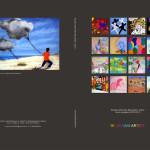 "Back cover and cover ""16 giovani artisti"""