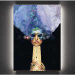 Bionics bride-2013-print on canvas cm.70x90x4