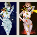 photo elaborations The four elements