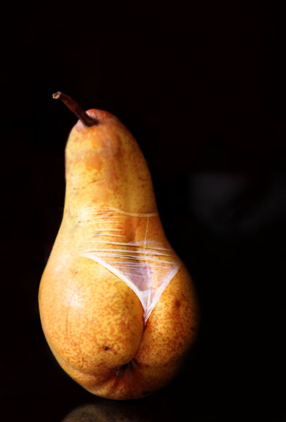 Sexy pear -2013digital photo elaboration