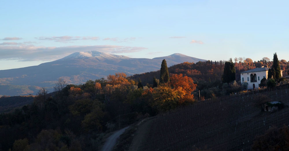 Monte Amiata da Montalcino