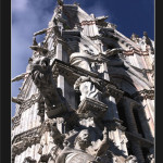 Siena,facciata del Duomo