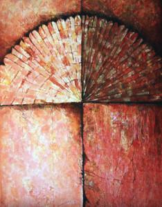 Pavone-2014-tecnica mista su tela cm.70x90x4bassarisol