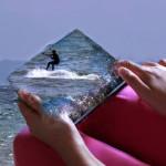 Air- digital photo elaboration