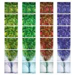 The four seasons 100x120cm