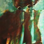 Silent warriors - 2020- mixed technique on canvas cm.90x70